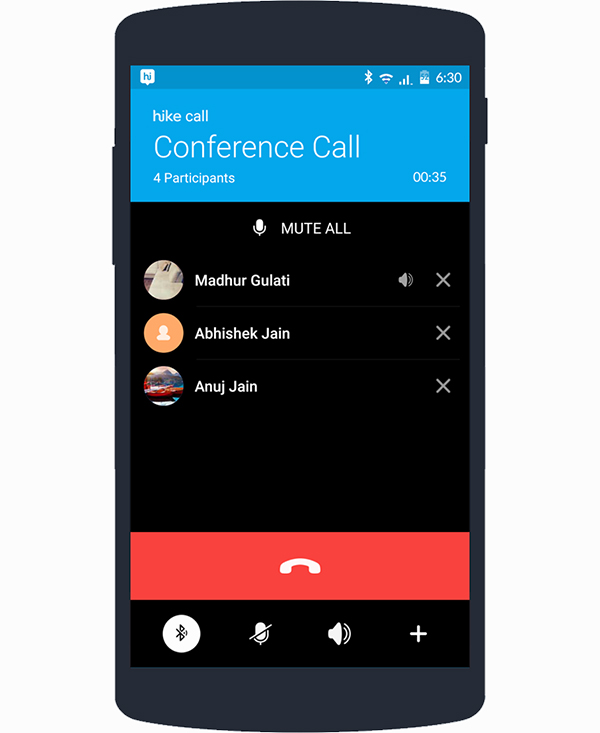 Hike messenger enables free voice conference calling with ...