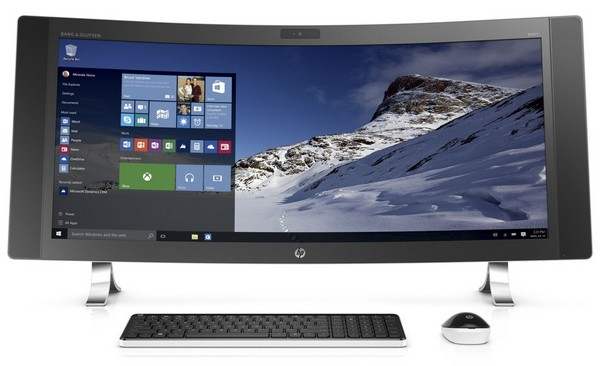 e7ed587dd7473 HP unveils 34-inch curved all-in-one Envy PC - GadgetDetail