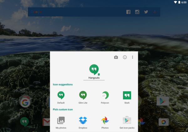 Action Launcher 3 Updated With Improved Icon Editing