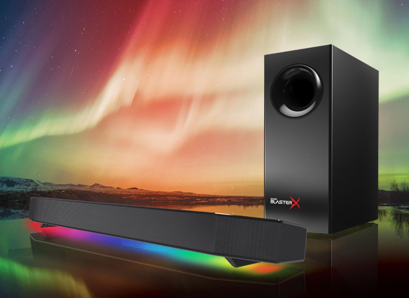 Creative Sound BlasterX Katana speaker is designed for