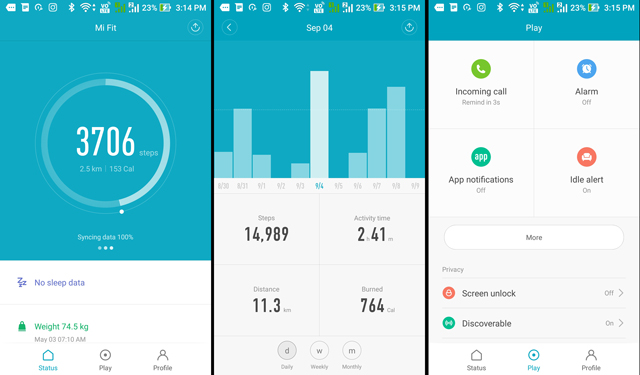 How to pair mi band with iphone