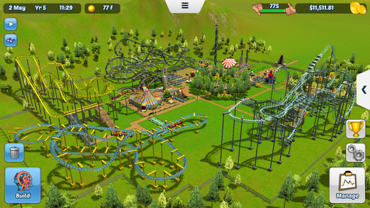 Atari Announces RollerCoaster Tycoon Touch - GadgetDetail