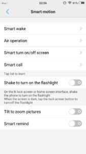 Vivo V5s and Vivo V5 Gestures : how to use gestures to speed up