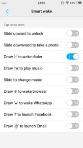 Vivo V5s and Vivo V5 Gestures : how to use gestures to speed