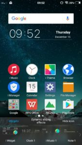 Vivo V5 : How to hide unwanted icons on home screen