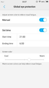Vivo V5 and V5s - List of night settings that help you get