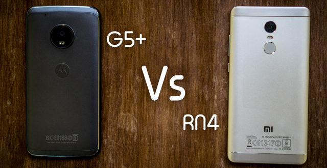 Note 4 vs Moto G5 plus