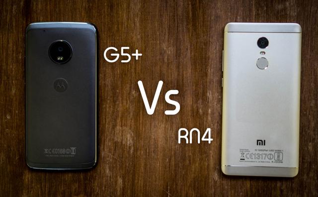 Note 4 vs Moto G5 plus