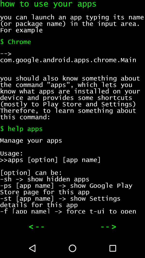 Linux CLI Launcher turns Android home screen into command