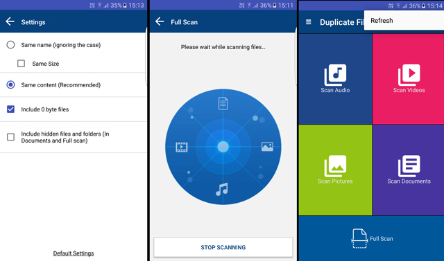 duplicate file fixer app