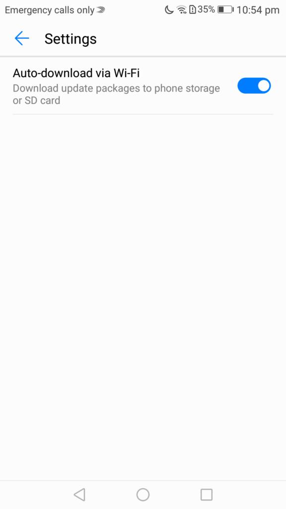 emui update phone