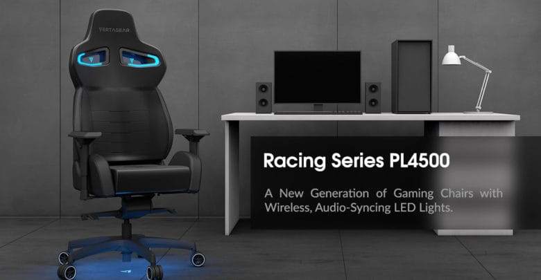 Sensational Ces 2018 Vertagear Pl4500 Is Worlds First Wireless Led Short Links Chair Design For Home Short Linksinfo