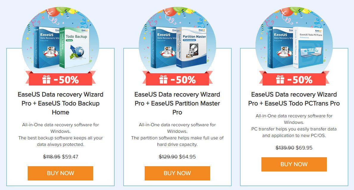 EaseUS Data Recovery Software Review - GadgetDetail