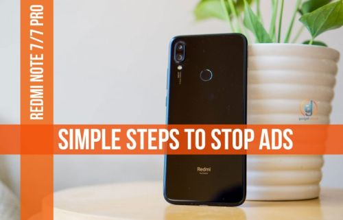 How to remove advertisements in Redmi Note 7 pro / Note 7