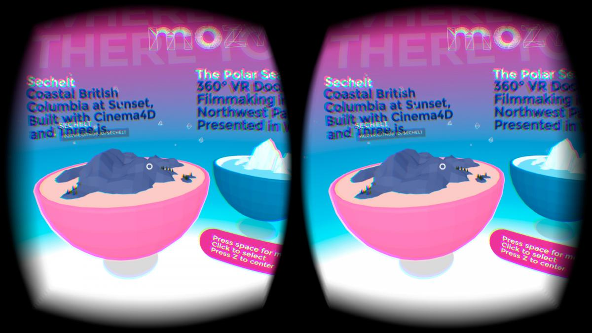 Mozilla launch mozvr com virtual reality website - GadgetDetail